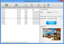 ScreenShot of Windows Graphic Converter
